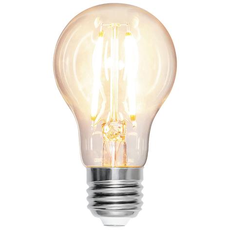 Lampadina LED E27 A60 7W 2.700K filamenti 810lm