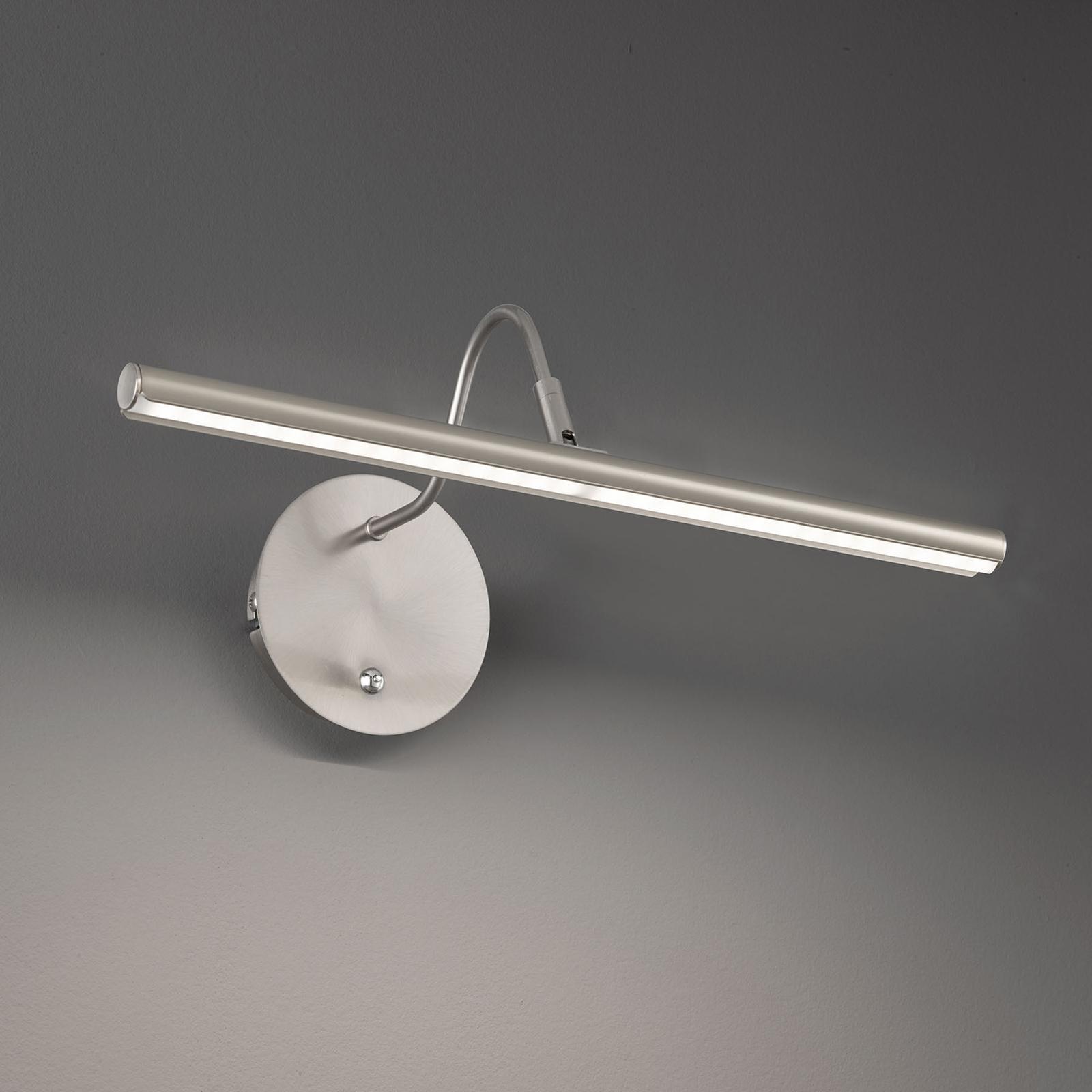 Applique LED Nami con interruttore, color nichel