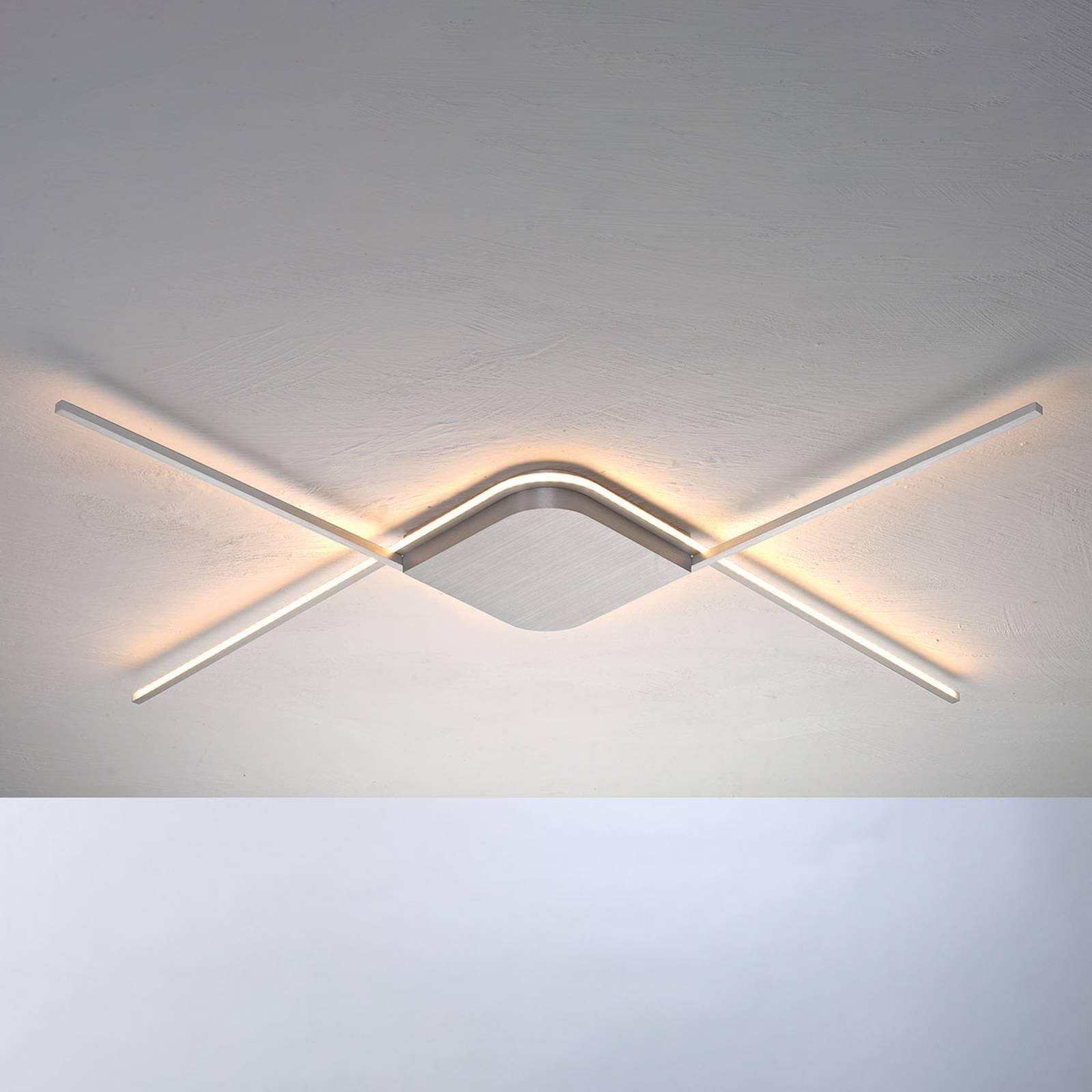 Bopp Less - LED-Deckenleuchte, aluminium