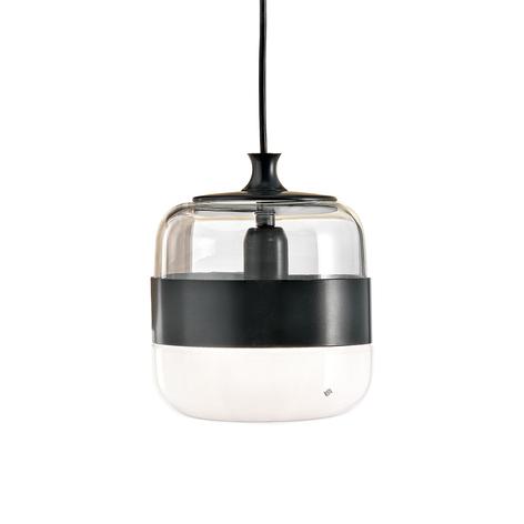Lámpara colgante Futura de vidrio Murano, 20 cm
