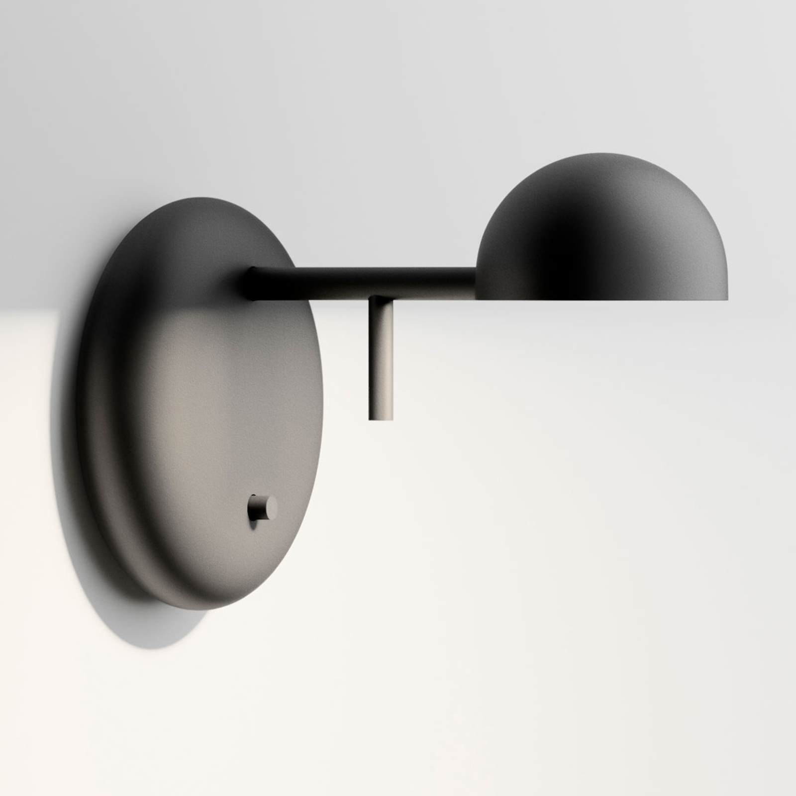 Vibia Pin 1675 applique LED, 11cm, noire