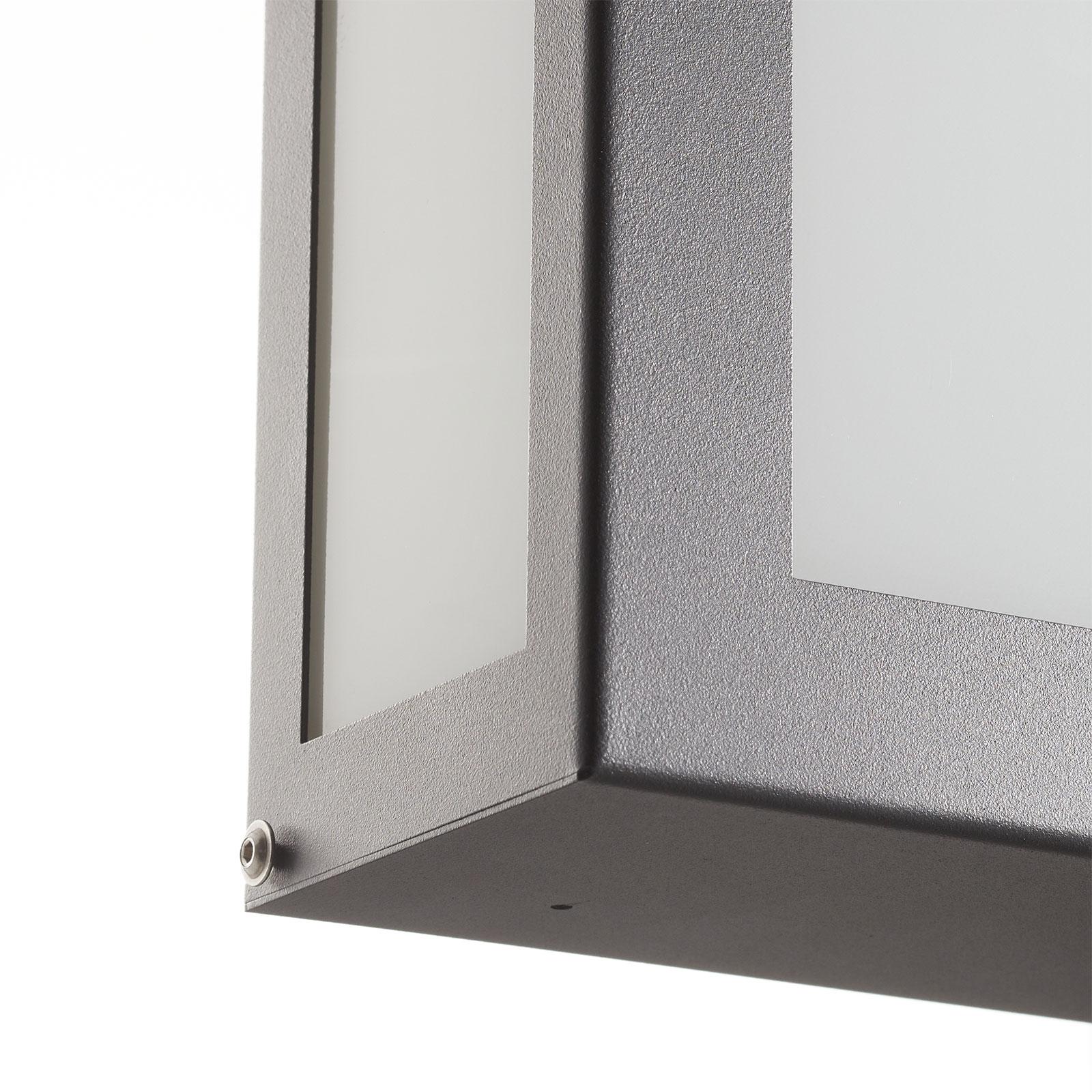 Sensor-buitenwandlamp Aqua Legendo Mini, antraciet