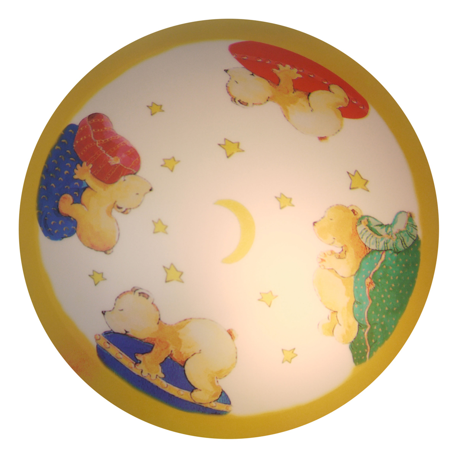 Bear Berni - sød loftlampe til børneværelset