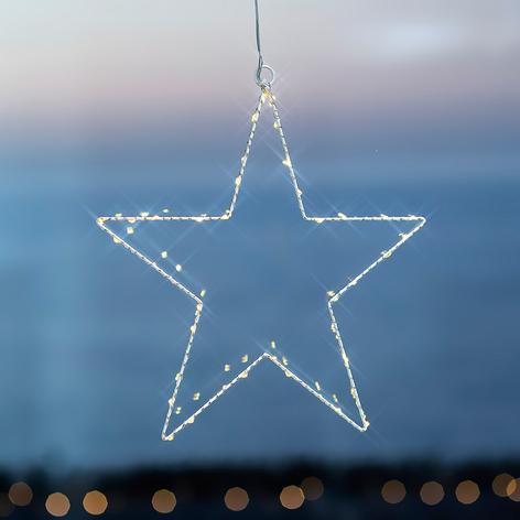 Estrella navideña LED Liva Star blanco 30