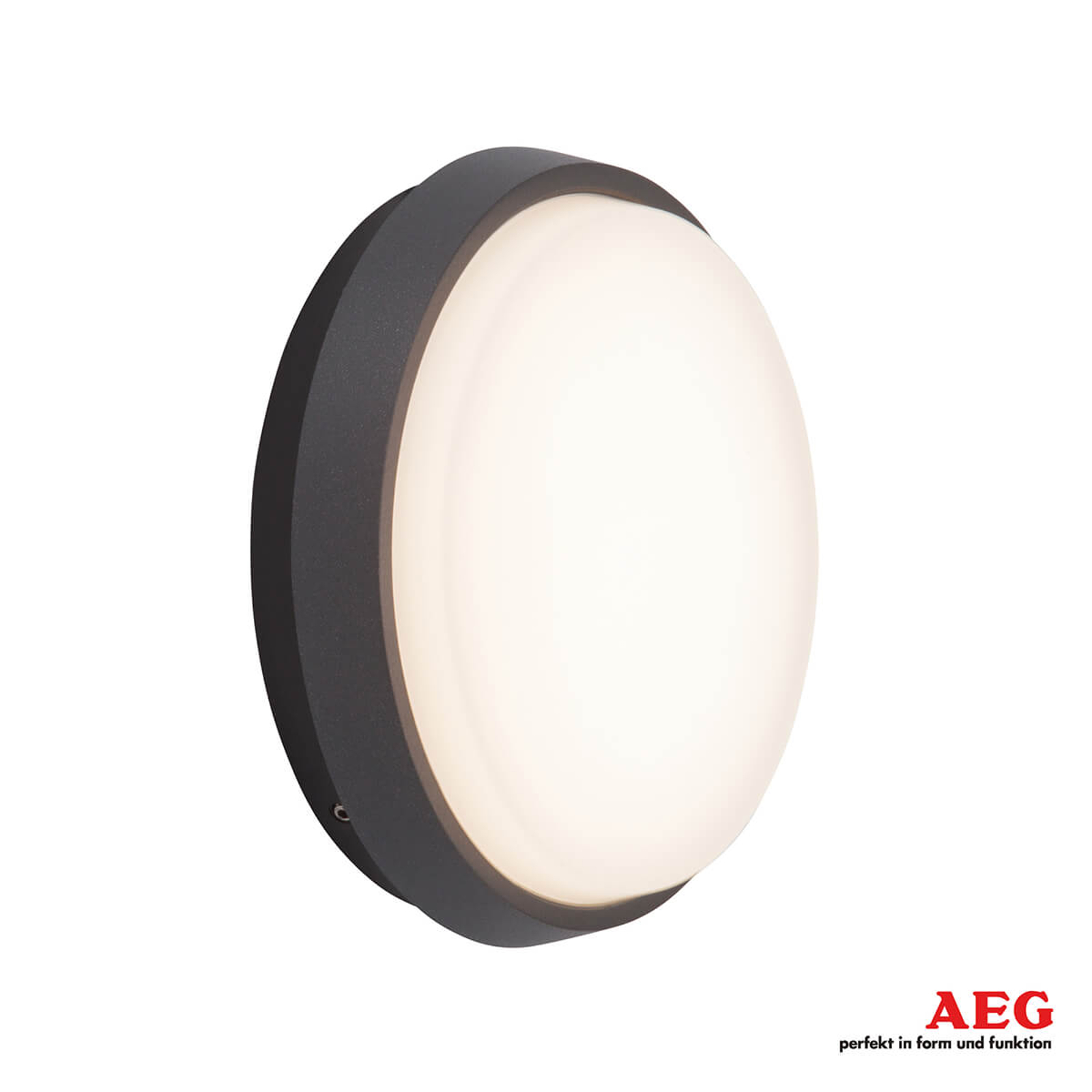AEG Letan Round - LED-Außenwandleuchte, 9 W
