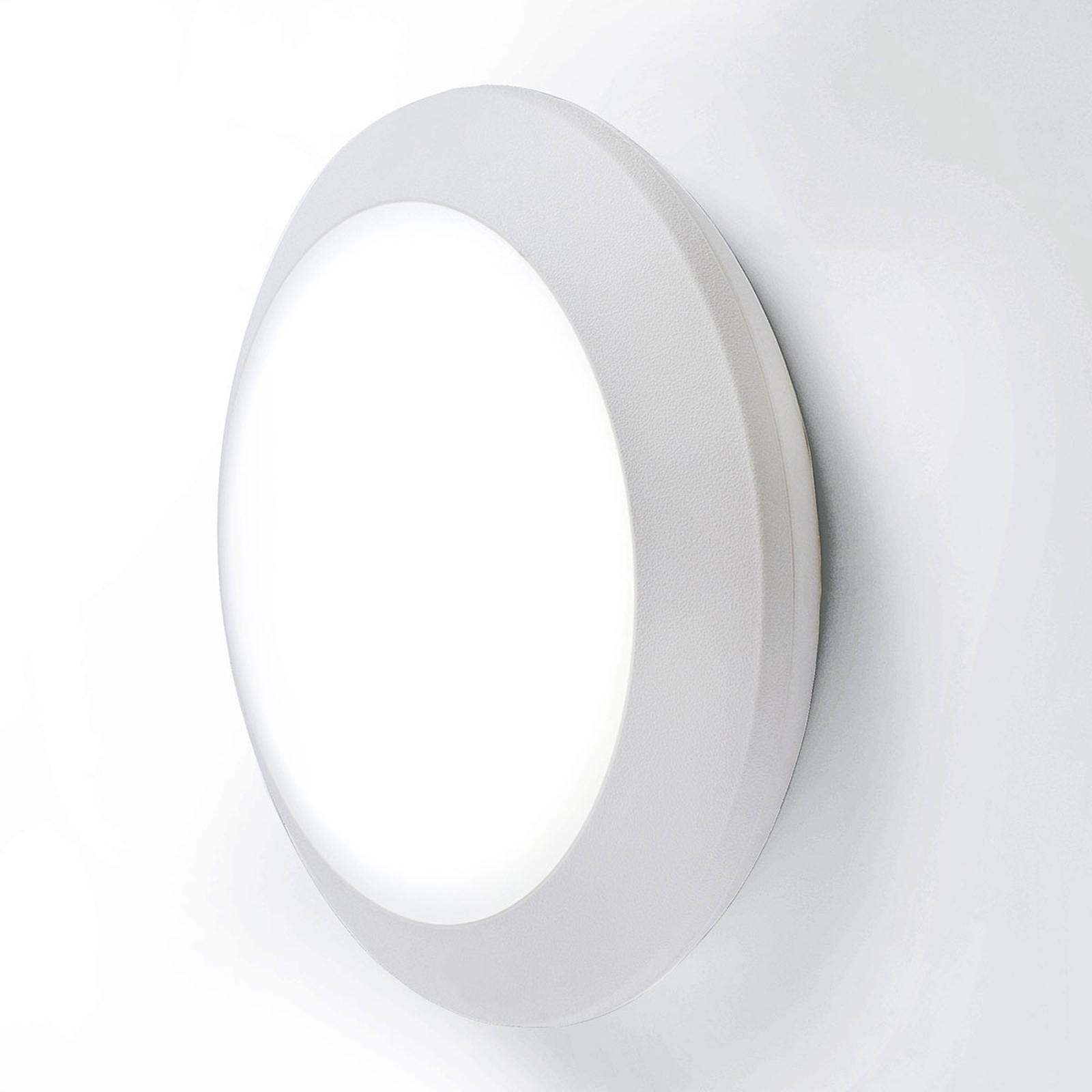 Lampa zewnętrzna LED Berta Ø 27,5 cm biała 11W CCT