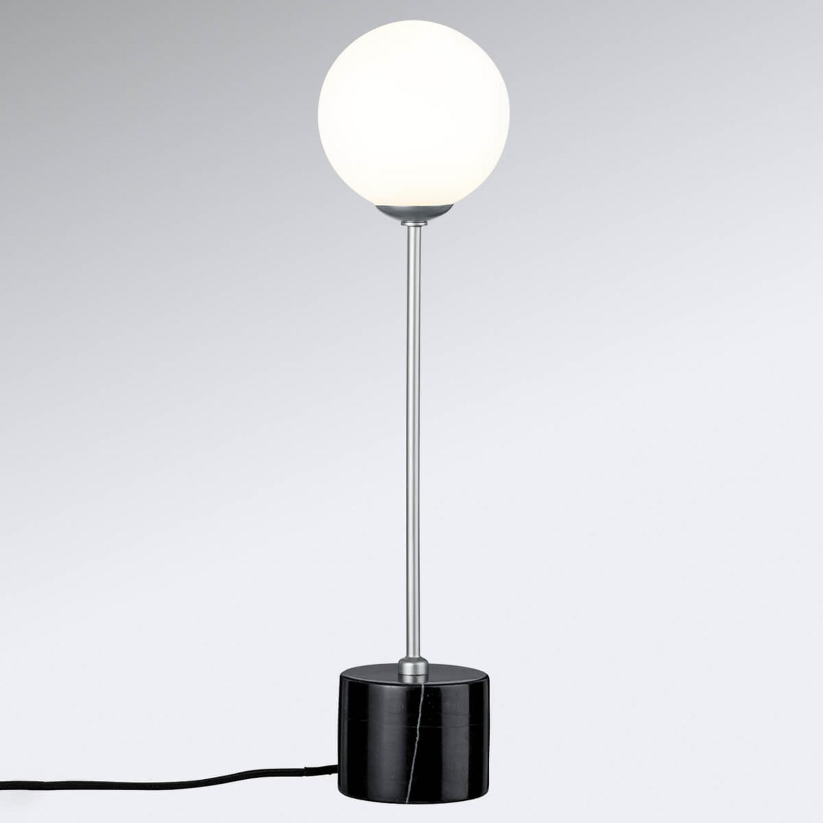 Elegancko zaprojektowana lampa stołowa Moa