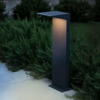 Soleil vejlampe med solcelle og skumringssensor