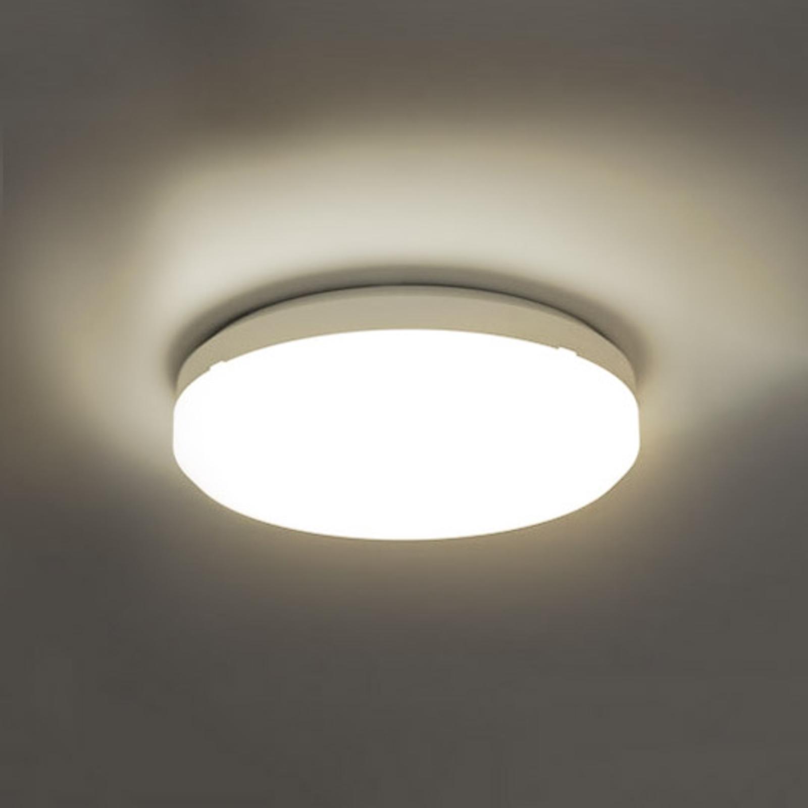 SUN 15, led-plafondlamp IP65, 18W, 3000 K,warmwit