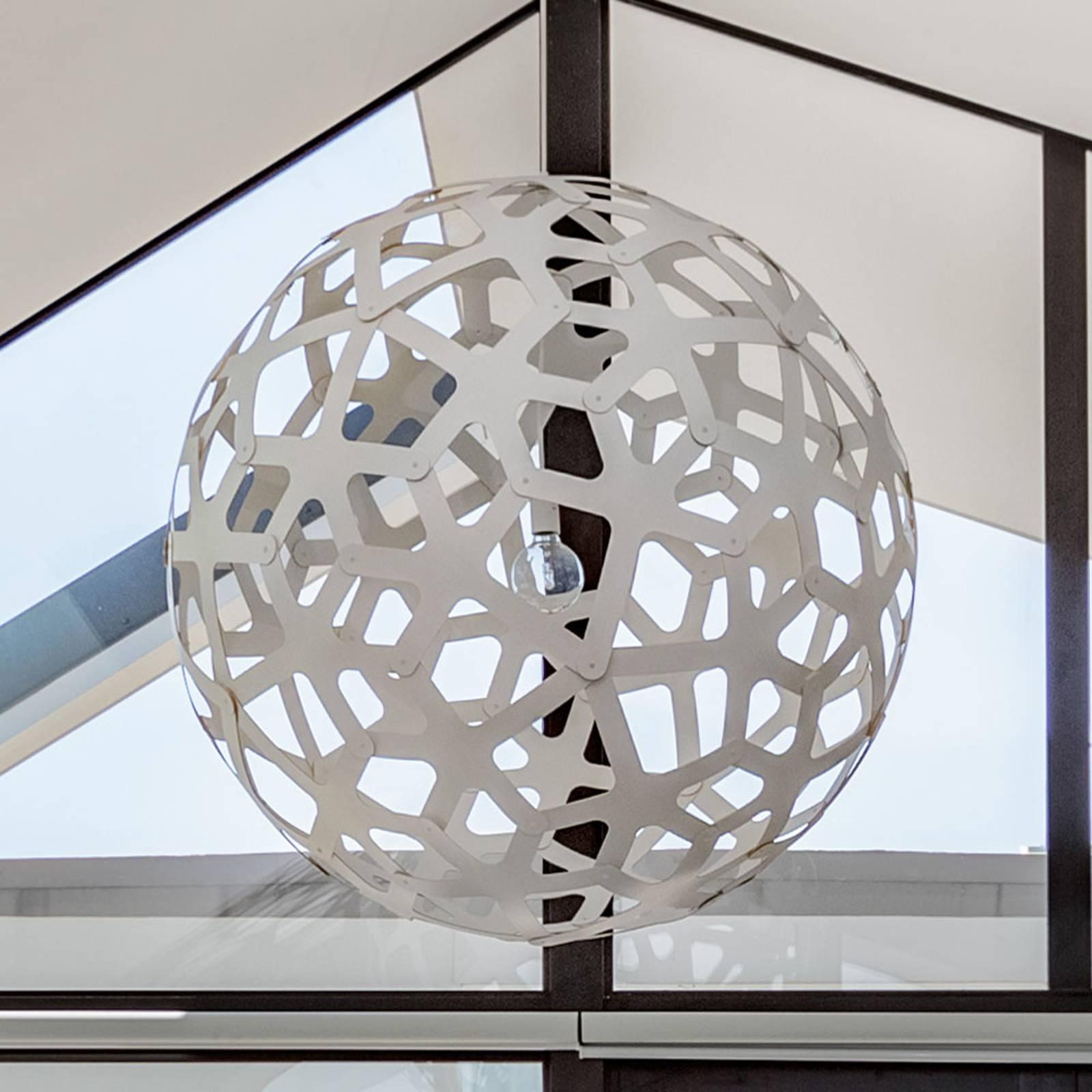 david trubridge Coral lampa wisząca Ø 60 cm biała