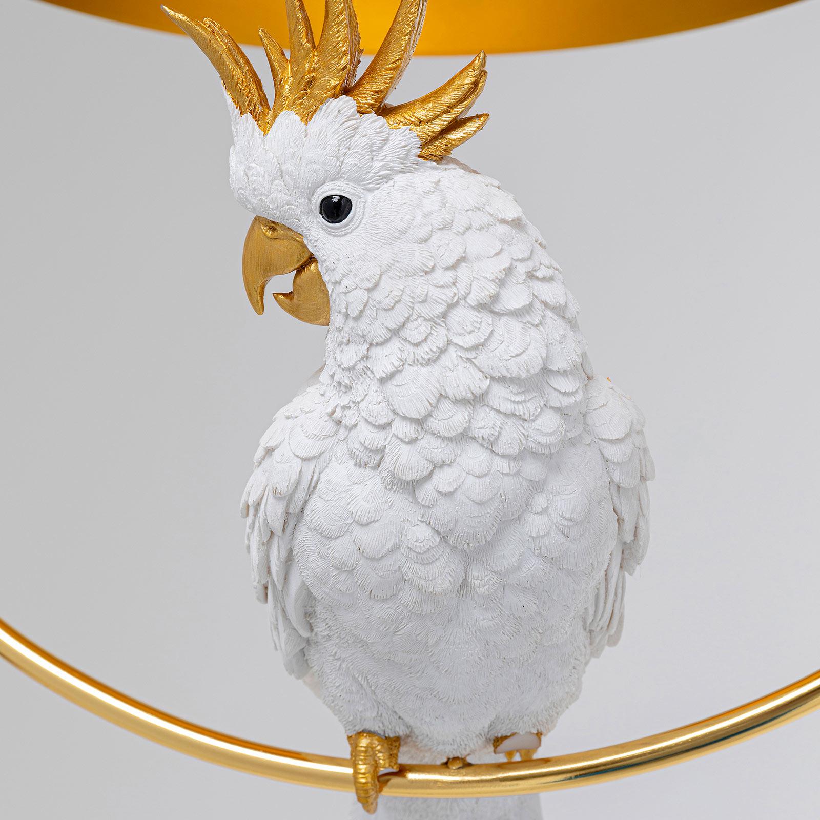 KARE Cockatoo lampa wisząca z modelem kakadu