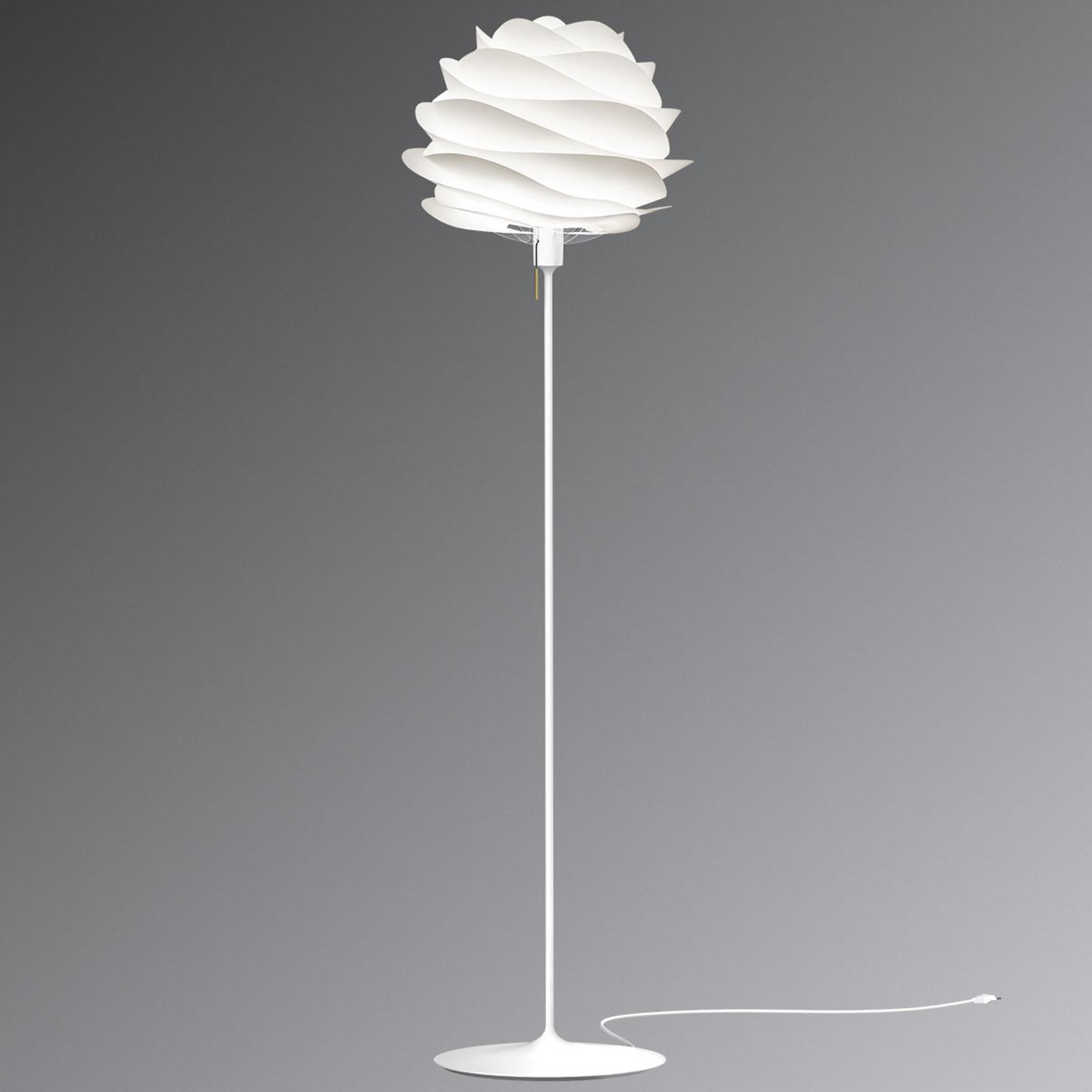 UMAGE Carmina gulvlampe i hvit