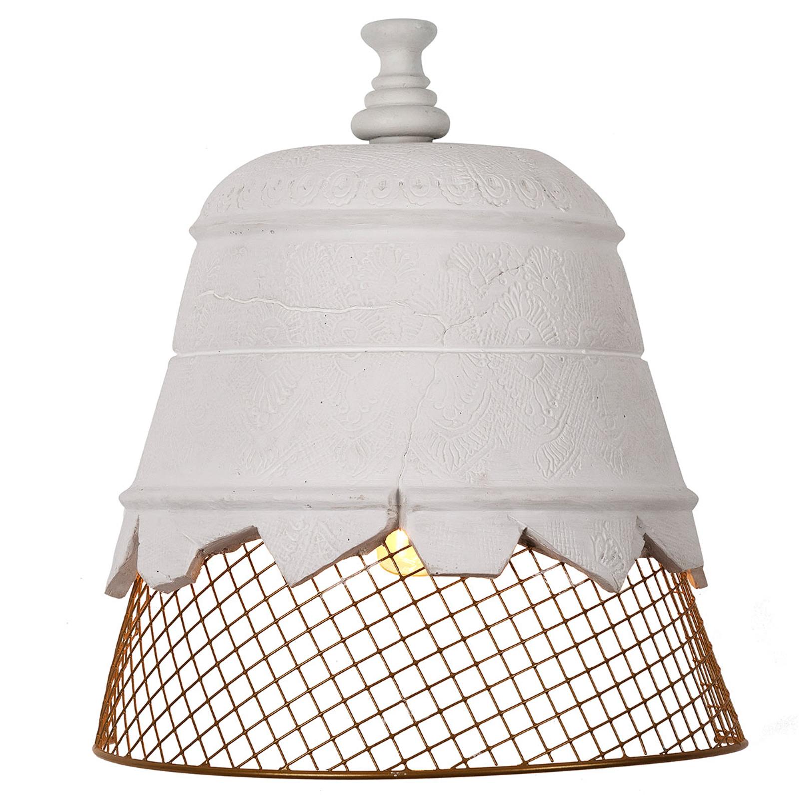Karman Domenica wandlamp van gips, goud