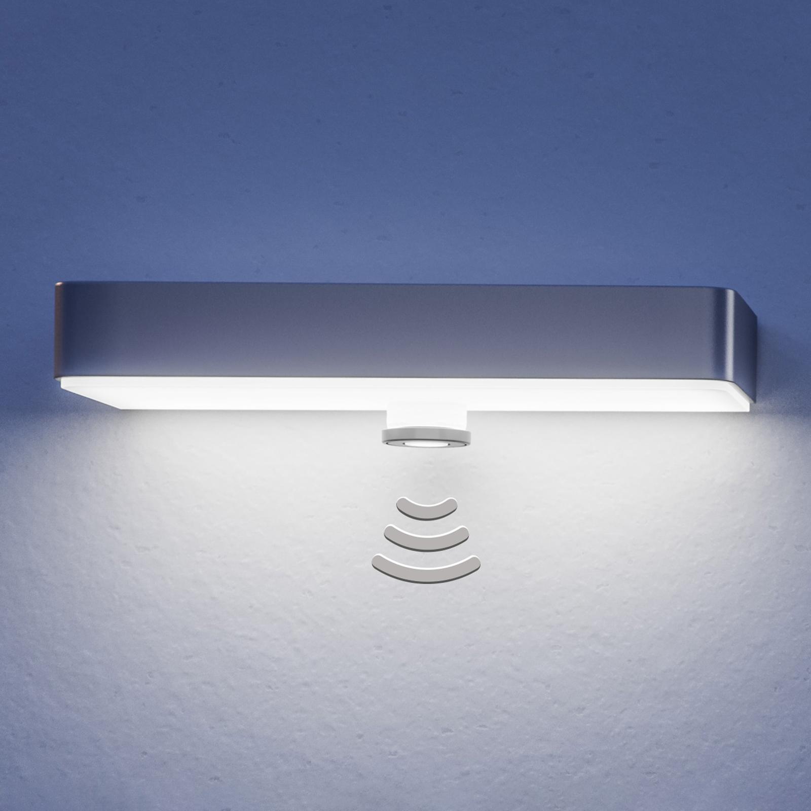 STEINEL XSolar SOL-O LED-vegglampe sensor svart