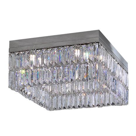Kryształowa lampa sufitowa PRISMA