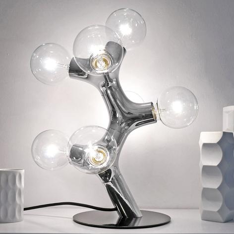 next DNA Table - designer-bordlampe, krom