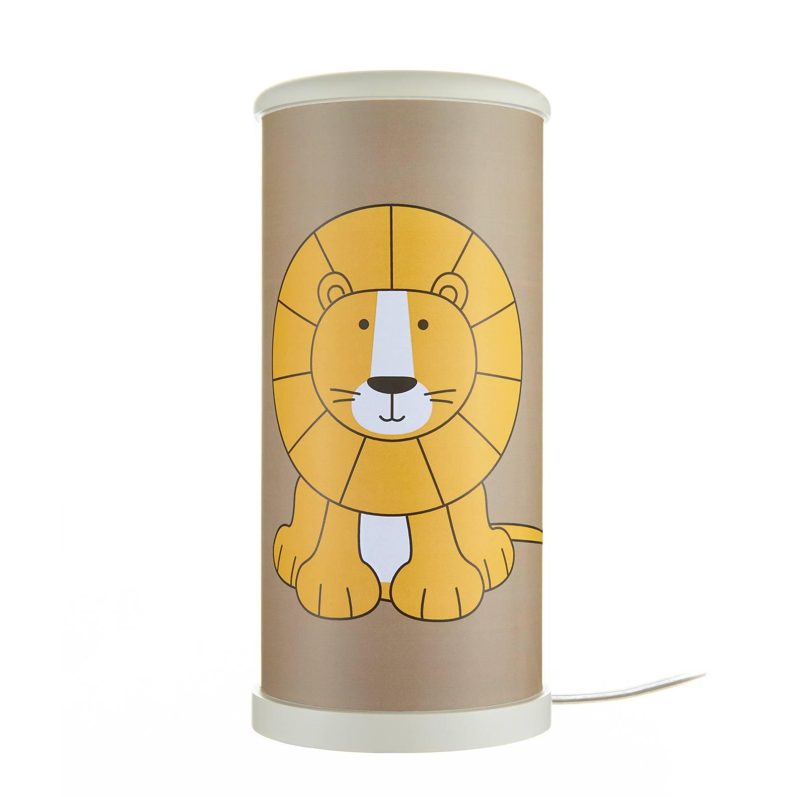 Lampada LED da tavolo Leone per bambini