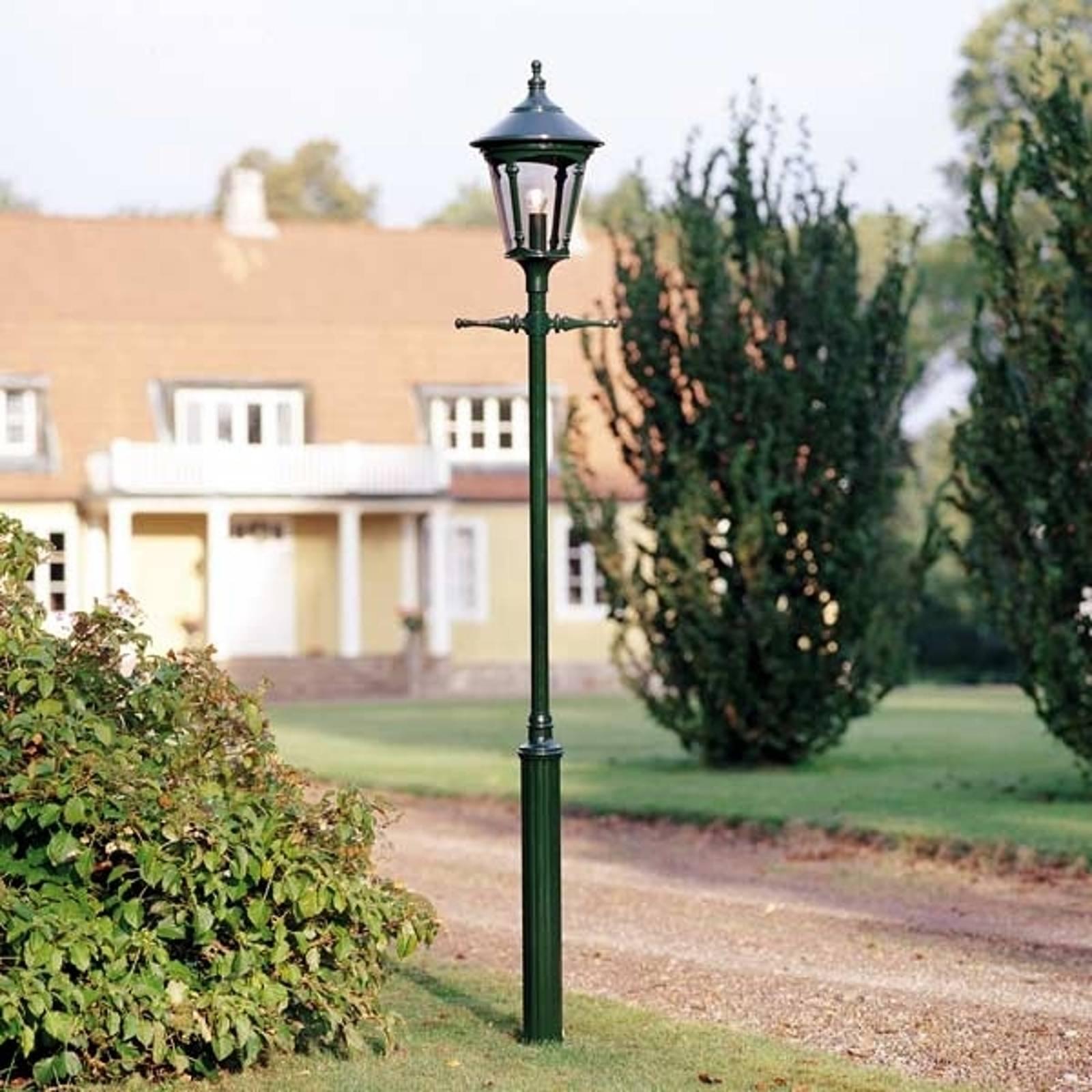 1-lichts buitenlantaarn VIRGO, donkergroen