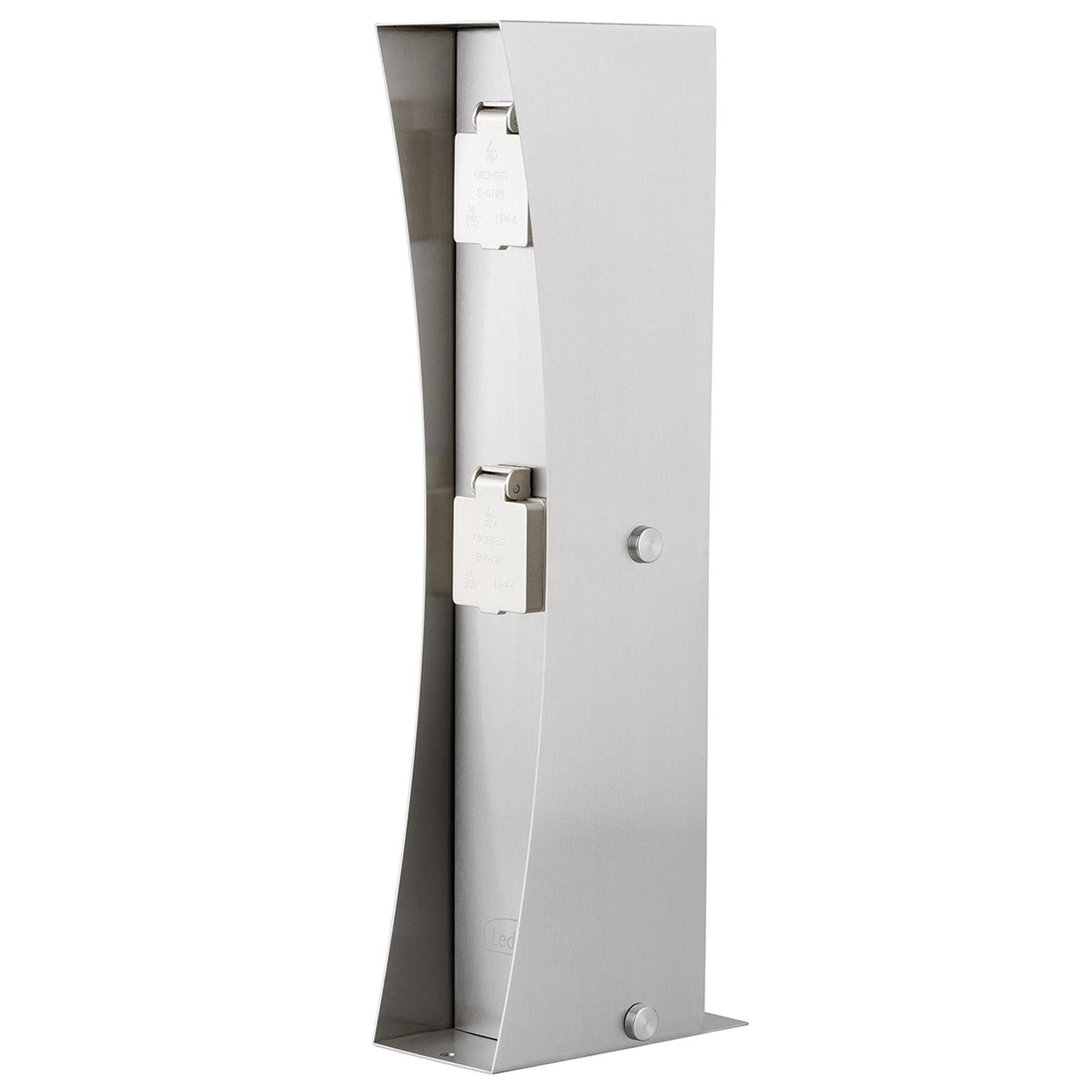 Eluttagspelare Connect D2, rostfritt stål