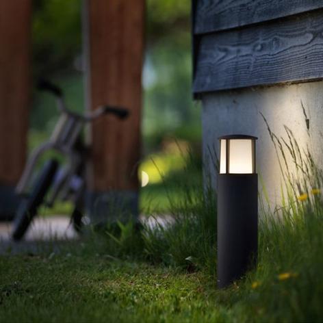 Stock-LED-pylväsvalaisin modernina lyhtymallina