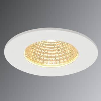 SLV Patta-I LED-downlight, rund, matt hvit