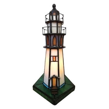 Dekorationslampa 6006 fyr i Tiffany-stil