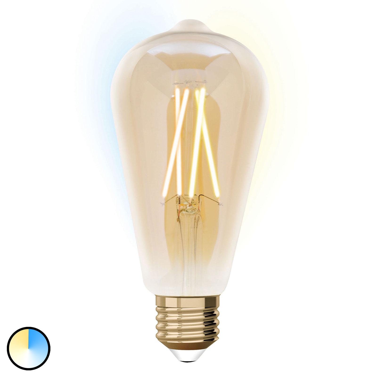 iDual LED-lampa E27 9 W ST64 utvidgning