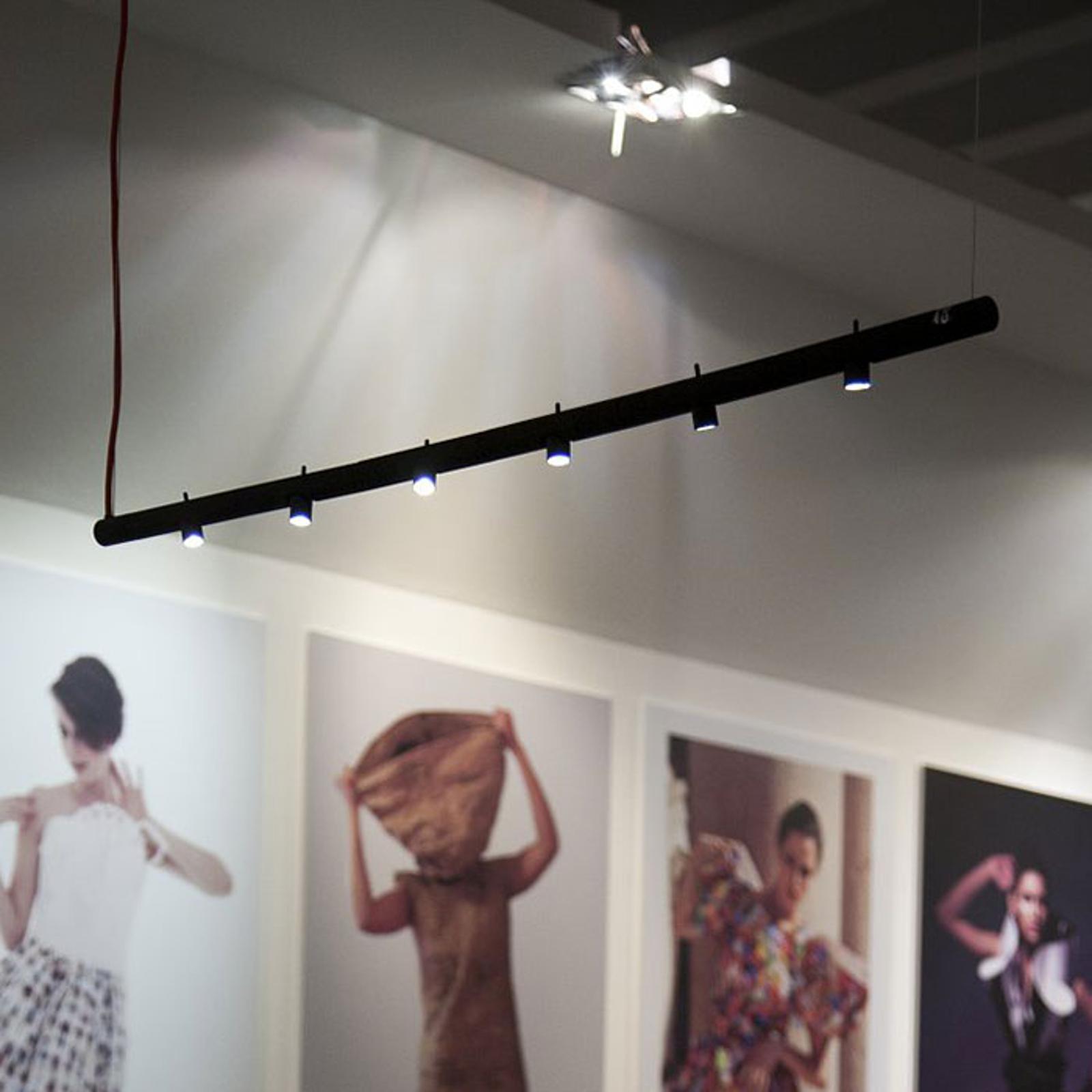 Martinelli Luce Colibrì LED-hänglampa 6 lampor