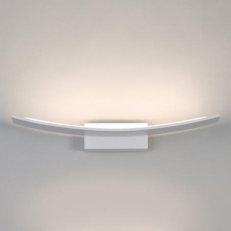 LED-Wandleuchte Pluma, weiß