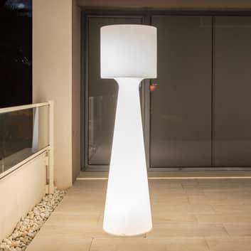 Newgarden Grace -LED-lattiavalo, akku, K 140 cm
