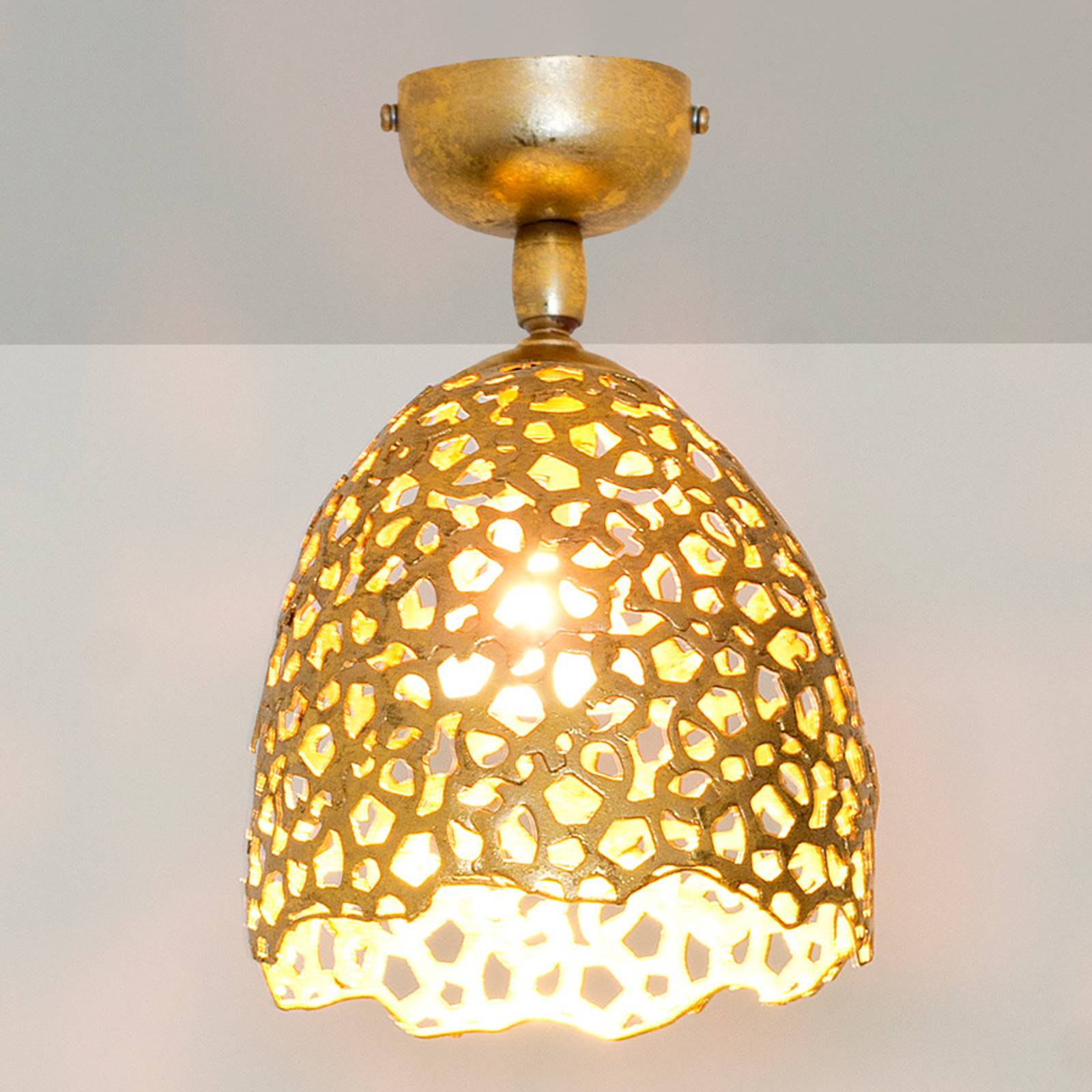 Girevole - ażurowa lampa sufitowa