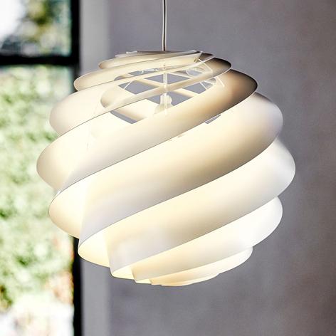LE KLINT Swirl 3 - suspension de designer blanche