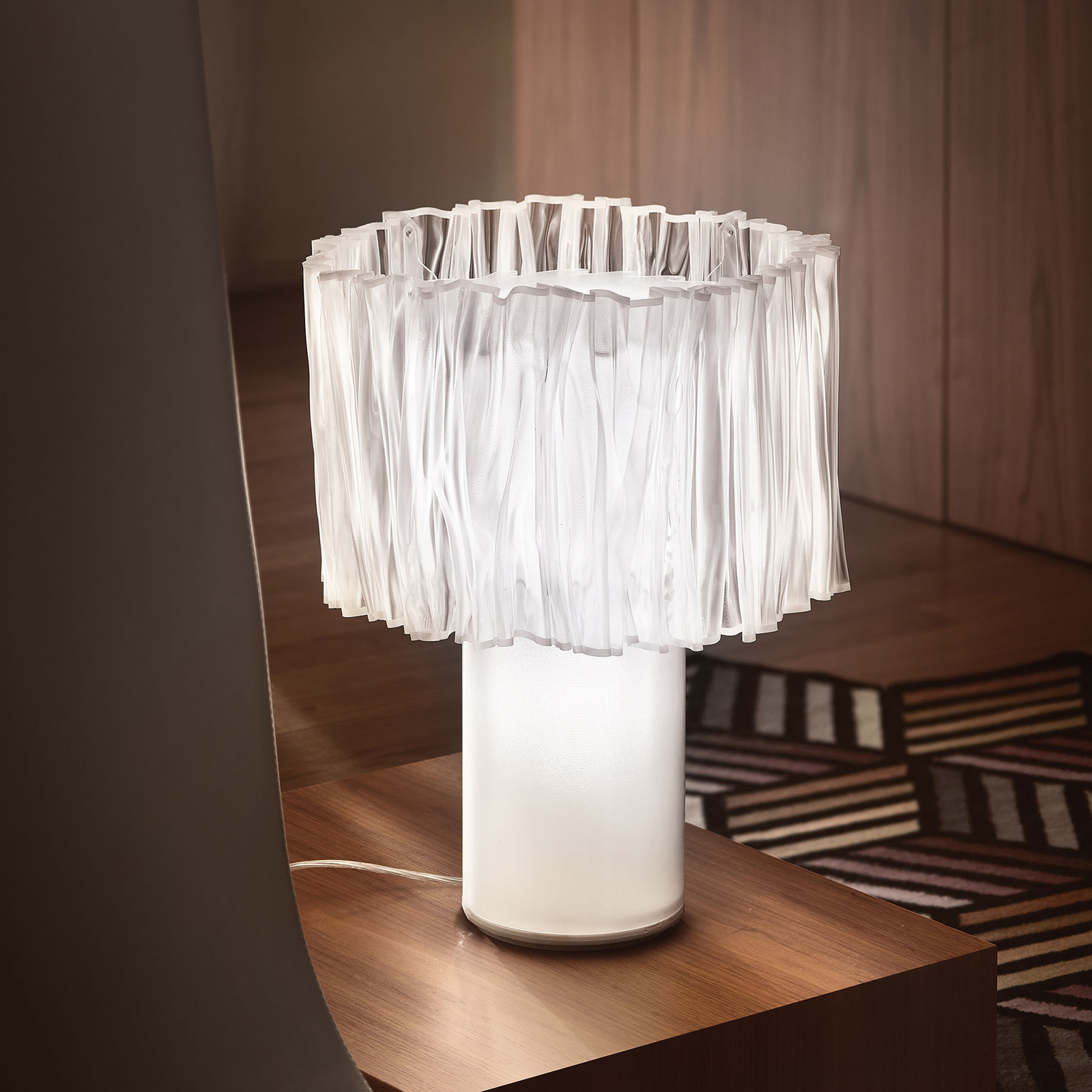 Slamp Accordéon Table Prisma bordslampa