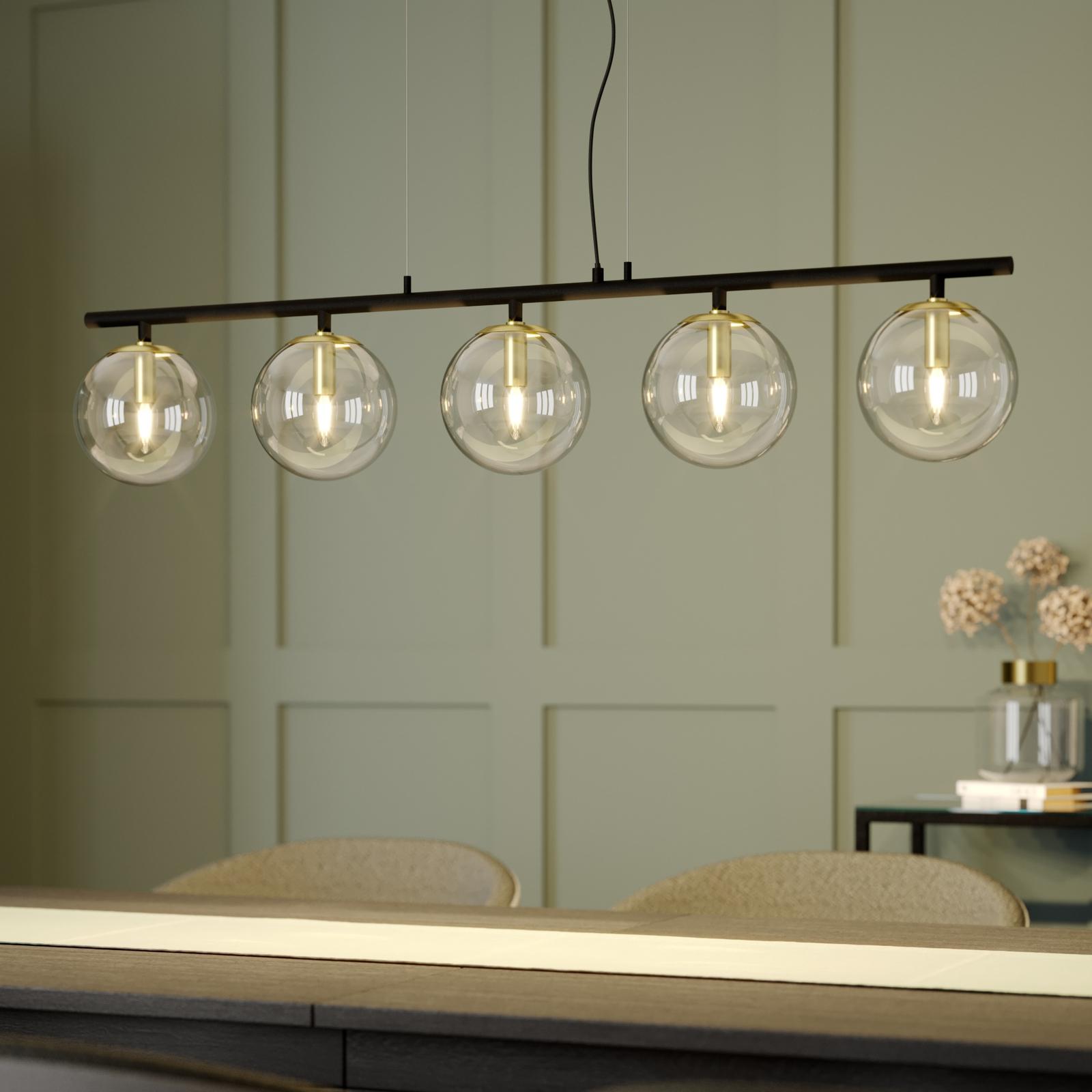 Lucande Sotiana suspension à 5 lampes