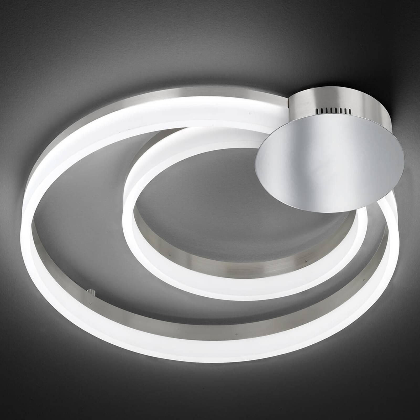 LED-Deckenleuchte Soul, zwei Kreise