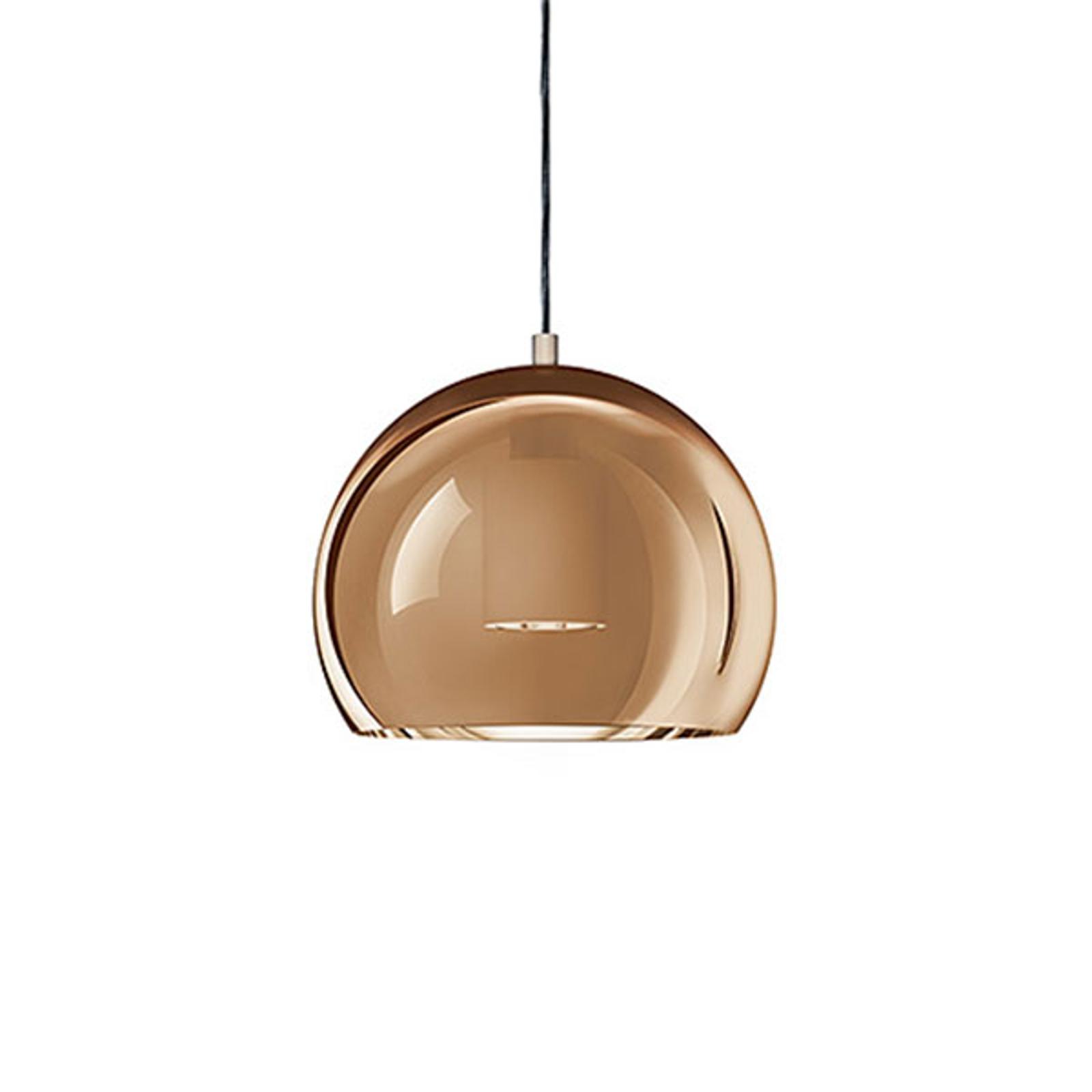Zumtobel Sconfine Sfera LED-Hängelampe 25cm bronze