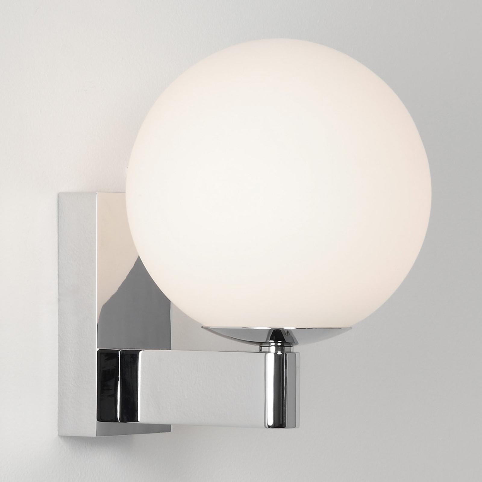 Astro Sagara koupelnové světlo, tvar koule, chrom