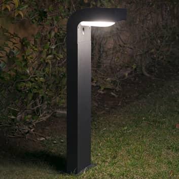 antracitfärgad gånglampa KLAMP