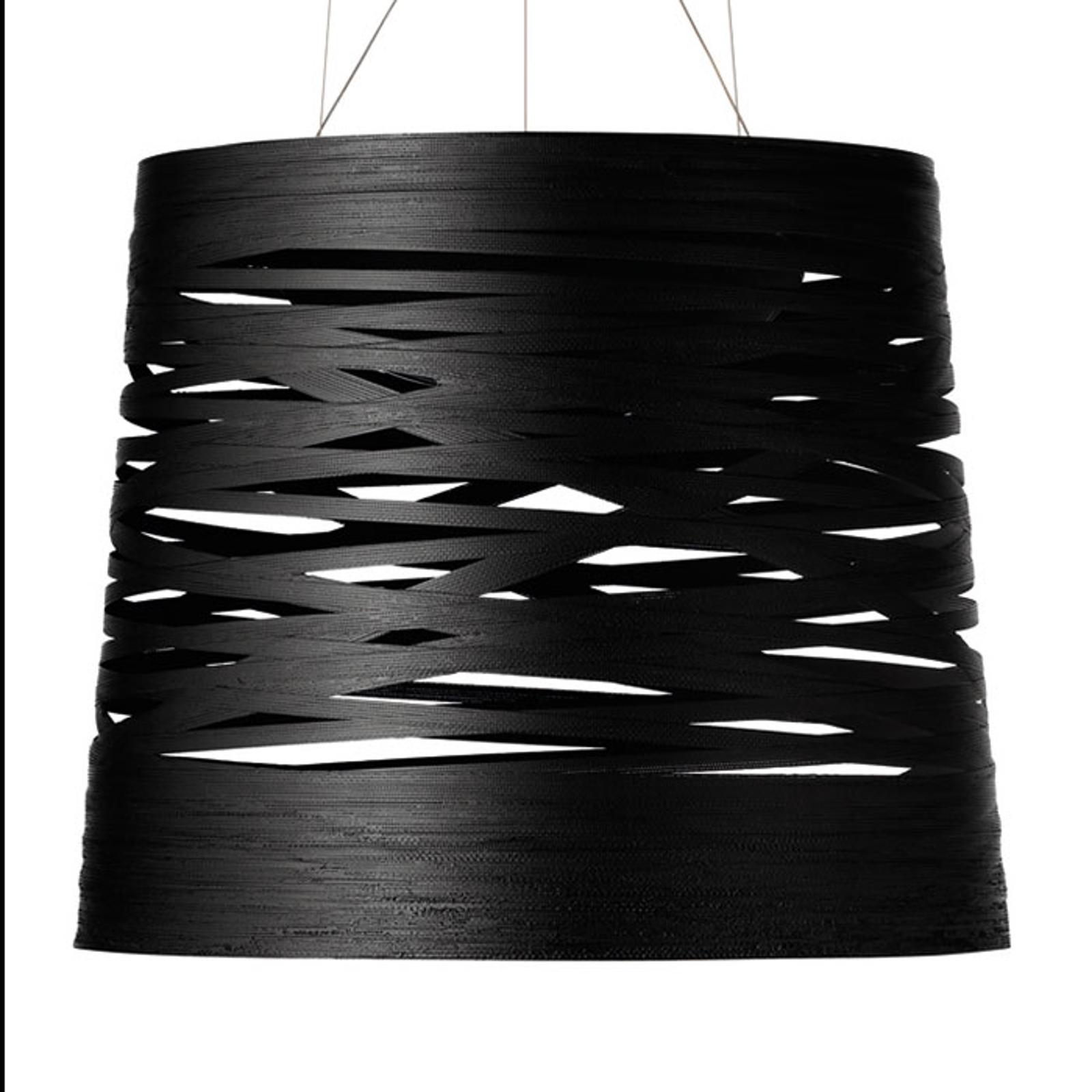 Foscarini Tress grande LED-Hängeleuchte, schwarz