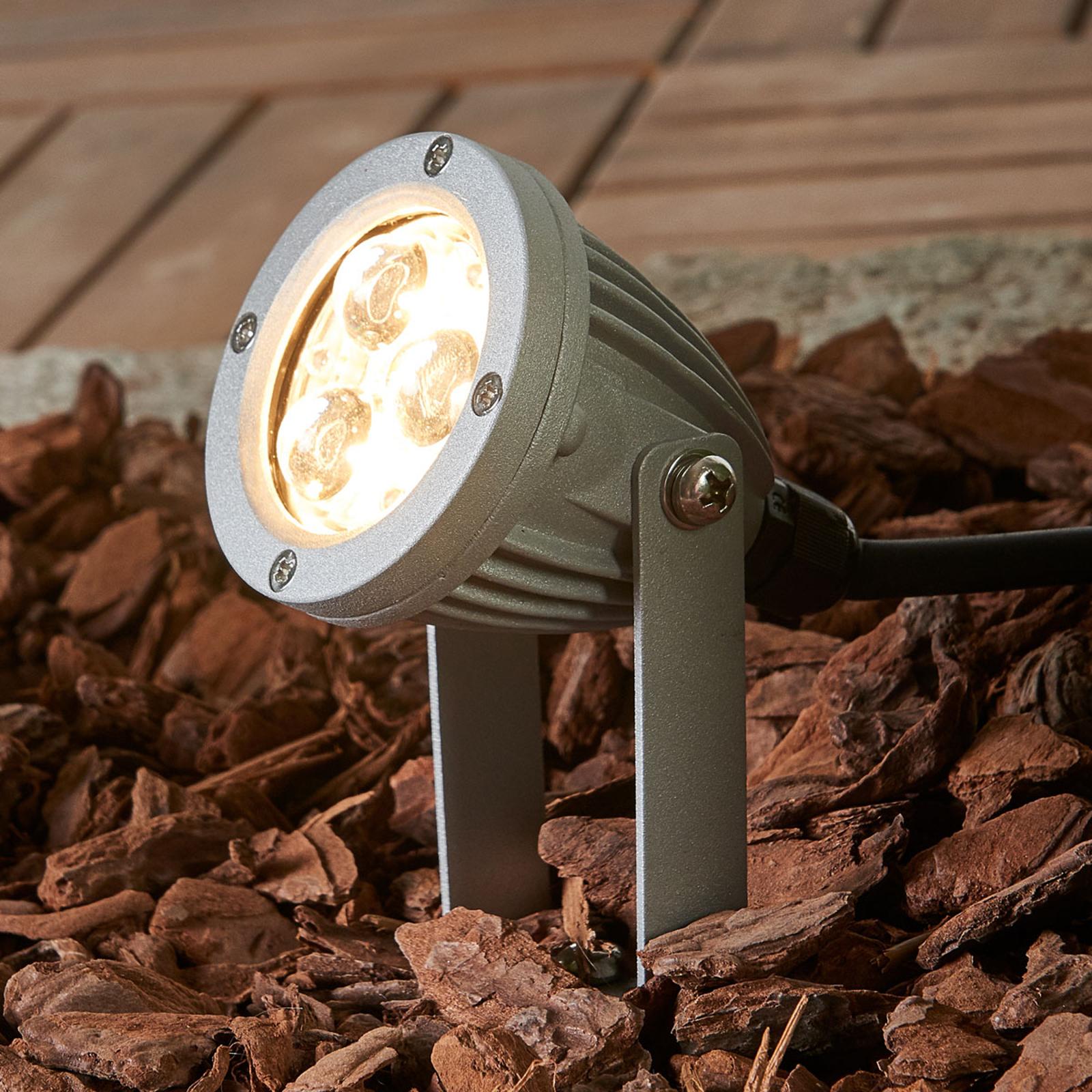 Led-grondspieslamp Sendling drukgegoten aluminium