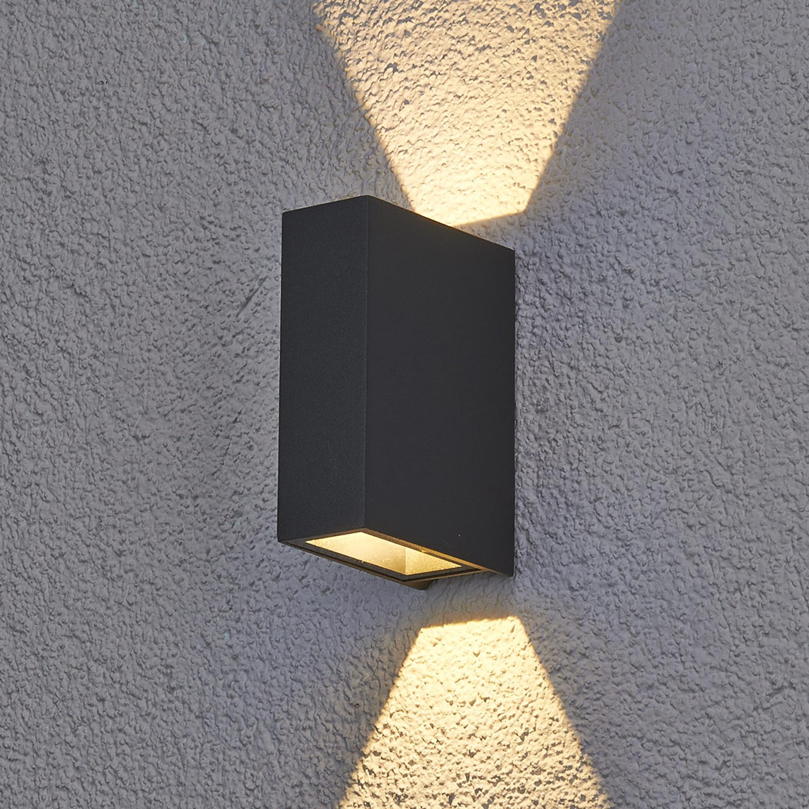 Maisie - zewnętrzna lampa ścienna LED z aluminium