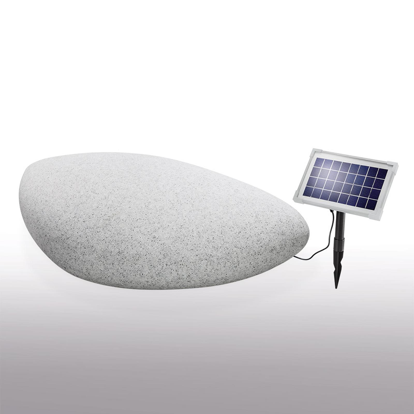 Decoratieve led-solarlamp Stone 40