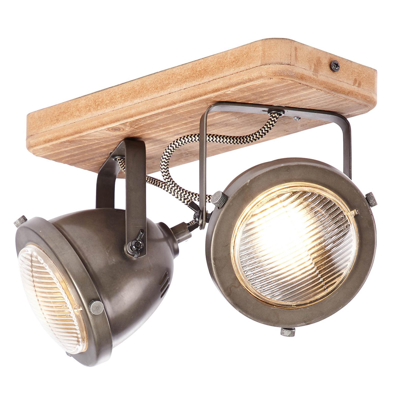 Carmen Wood - lampa sufitowa, 2-pkt.