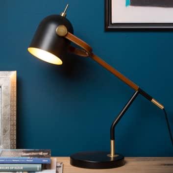 Lampa biurkowa Waylon o wzornictwie retro