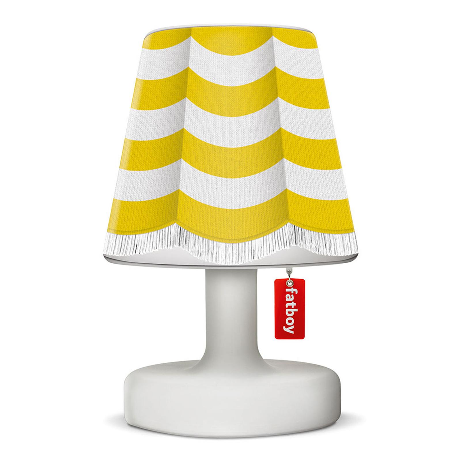 Fatboy Cooper Cappie Schirm, stripe curtain yellow