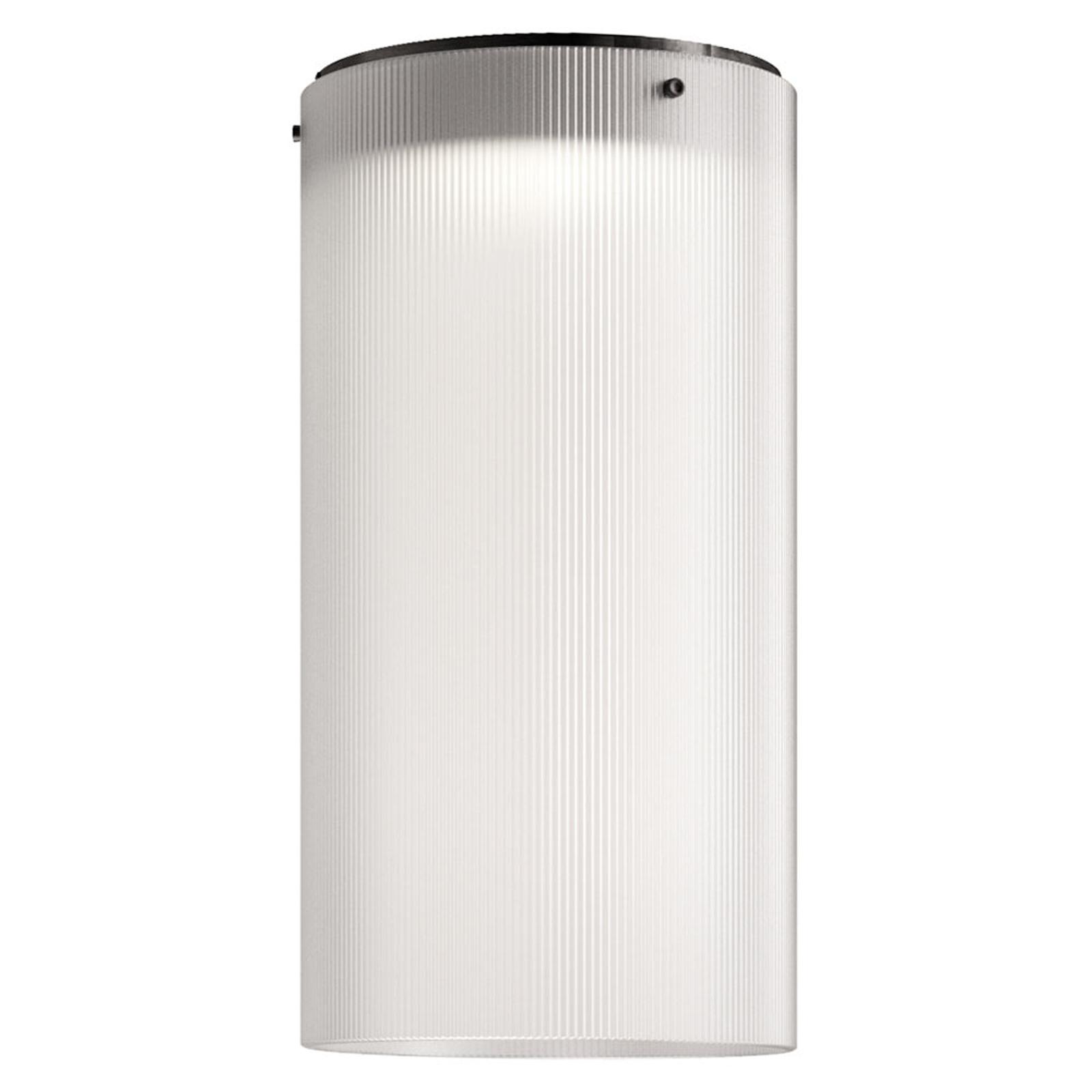 Kundalini Giass - lampa sufitowa LED Ø25 cm, biała