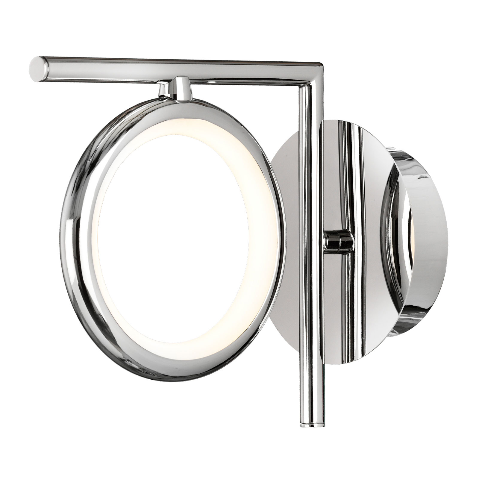 Applique LED Olimpia, cromo