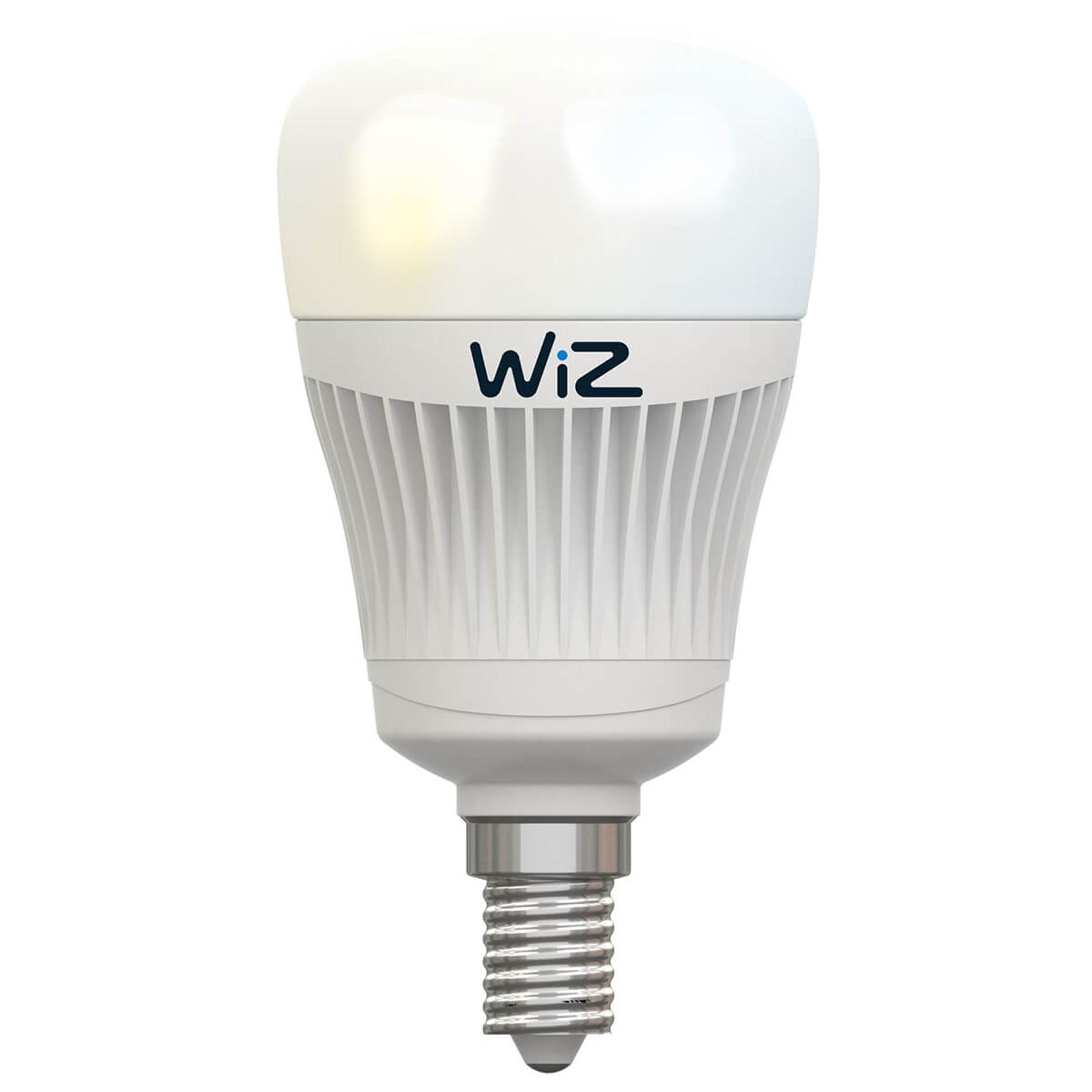 Ampoule LED E14 WiZ sans télécommande, blanche