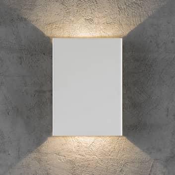 Fold udendørs LED-væglampe, up / down, 15 x 21 cm