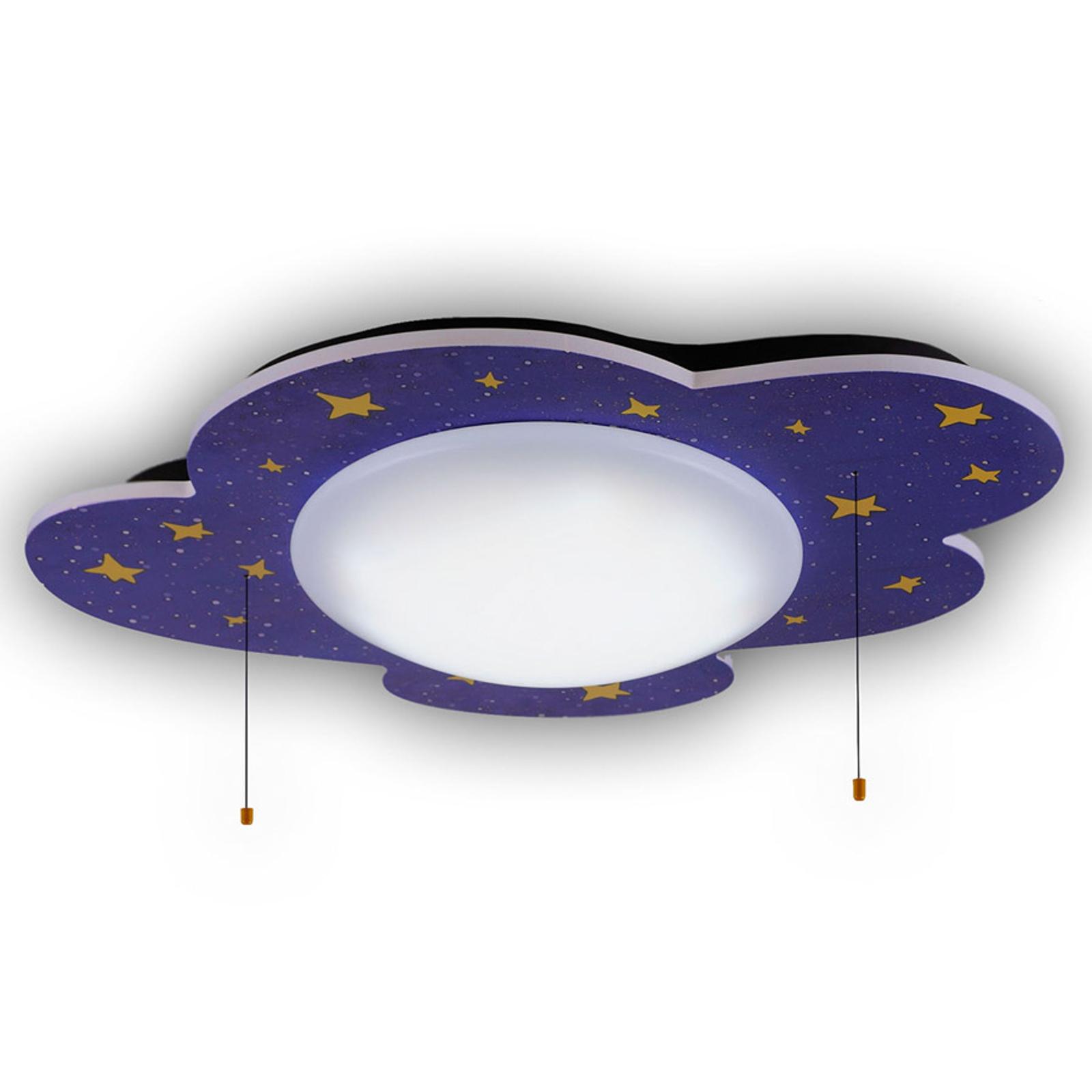 Gwieździste niebo lampa sufitowa LED z funkcją HCL